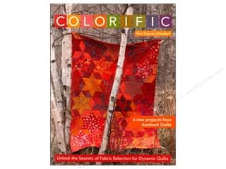 C&T Publishing Colorific: Unlock the Secrets of Fabric Selection for Dynamic Quilts Book by Pam Goecke Dinndorf