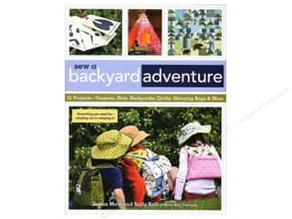 Summer Camp: C&T Publishing Sew A Backyard Adventure Book by Susan Maw and Sally Bell