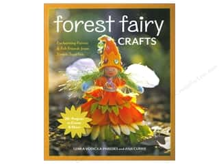 Dolls and Doll Making Supplies $0 - $2: FunStitch Studio Forest Fairy Crafts by Lenka Vodicka-Paredes and Asia Curie