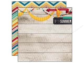 Simple Stories Paper 12x12 I Heart Summer Sunshine (25 piece)