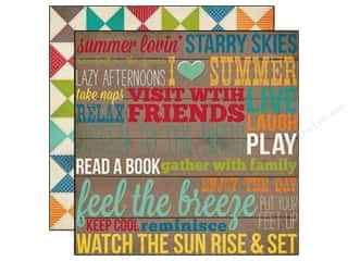 Simple Stories Paper 12x12 I Heart Summer Porch (25 piece)