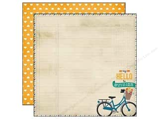 Simple Stories Paper 12x12 I Heart Summer Hello (25 piece)