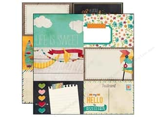 Simple Stories Paper 12x12 I Heart Summer Jrnl #2 (25 piece)