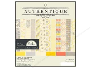 Authentique 6 x 6 in. Paper Bundle Be(you)tiful 24 pc.