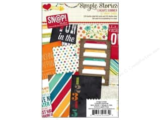 Sizzling Summer Sale 3L: Simple Stories Cards 4x6 Snap I Heart Summer