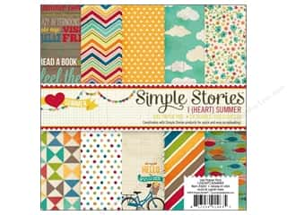 Simple Stories Paper Pad 6x6 I Heart Summer