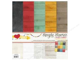 Simple Stories Kit I Heart Summer Basics 12x12