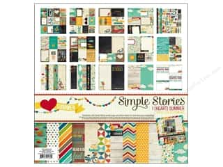 Simple Stories Kit I Heart Summer Collection 12x12
