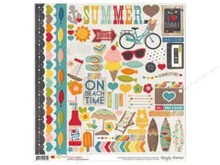 Clearance Blumenthal Favorite Findings: Simple Stories Sticker I Heart Summer Fundamentals