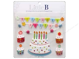 Little B Decorative Sticker Large Birthday