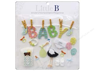 Little B Decorative Sticker Large Baby