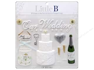 Glass Wedding: Little B Sticker Large Wedding