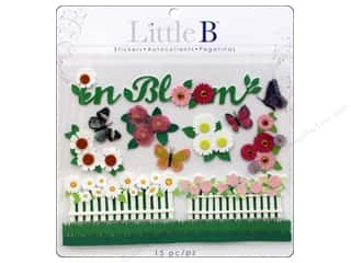 Clearance Blumenthal Favorite Findings: Little B Decorative Sticker Large Spring