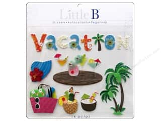 Cards Vacations: Little B Sticker Large Vacation