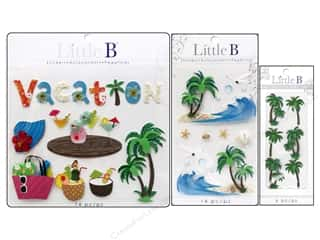 Scrapbooking Sale: Little B Decorative Stickers, SALE $2.39-$6.19.