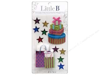Gifts paper dimensions: Little B Sticker Medium Birthday Gift