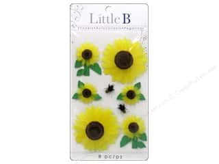 Felt paper dimensions: Little B Sticker Medium Sunflowers