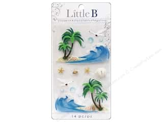 Little B Decorative Sticker Medium Waves & Sandshore
