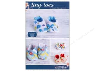 McKay Manor Musers Sewing Construction: Mckay Manor Musers Tiny Toes So Simple Slipper Pattern