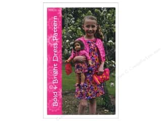 Purses Family: Firetrail Designs Bold & Bright Dress Pattern