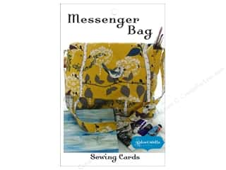 Tote Bag Sewing & Quilting: Stitchin' Post Messenger Bag Sewing Card Pattern by Valori Wells
