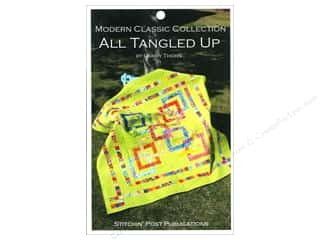 Quiltsillustrated.com Jelly Roll Patterns: Stitchin' Post All Tangled Up Pattern by Lawry Thorn