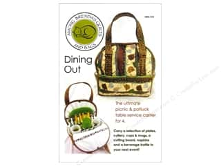 Table Runners / Kitchen Linen Patterns: Dining Out Bag Pattern