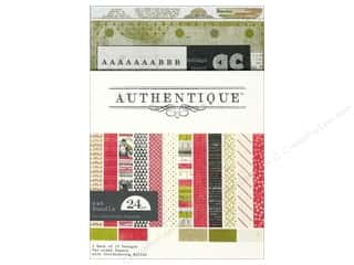 Tabs ABC & 123: Authentique Collection Bundle 6 x 6 in. Joyous