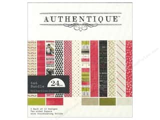 Authentique 6 x 6 in. Paper Bundle Joyous 24 pc.