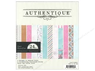 Authentique 6 x 6 in. Paper Bundle Sweetness 24 pc.