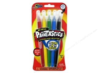 Weekly Specials DecoArt Glass Paint Marker: Elmer's Paint Paintastics Pen Set Rainbow 5pc
