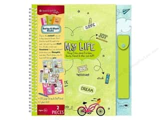 American Girl Scrapbook / Photo Albums: American Girl Scrap & Stuff Book My Life Travel Size