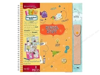 American Girl Scrapbook / Photo Albums: American Girl Scrap & Stuff Book School Travel Size