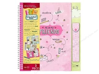 American Girl Scrap & Stuff Book Friends Travel Size