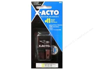 Plastics Art, School & Office: X-Acto #11 Classic Fine Point Blade 15 pc.