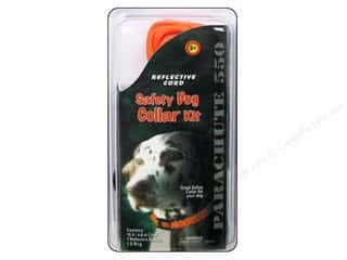 Pepperell Braiding Co. Crafting Kits: Pepperell Parachute Cord Accessories Reflective Safety Dog Collar Kit