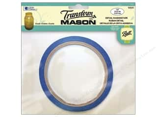 Tapes Glass: Loew Cornell Transform Mason Detail Masking Tape 1/8 in. x 20 yd.