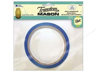 Tapes Glass: Loew Cornell Transform Mason Detail Masking Tape 1/4 in. x 20 yd.