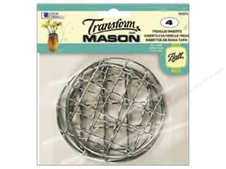 Ball Jars inches: Loew Cornell Transform Mason Lid Inserts 4 pc. Frog