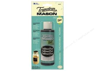 ball mason transform paint: Loew Cornell Transform Mason Paint 4 oz. Chalkboard