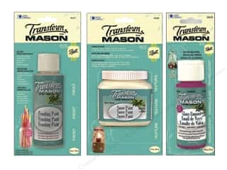 Weekly Specials Gallery Glass: Loew Cornell Transform Mason Paint, SALE $2.69-$5.39.