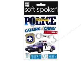 Office: Me&My Big Ideas Sticker Soft Spoken Police Officer