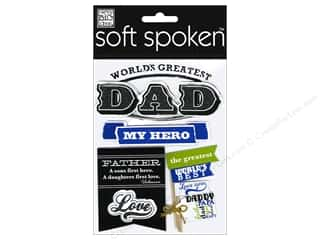 2013 Crafties - Best Adhesive: MAMBI Sticker Soft Spoken Greatest Dad