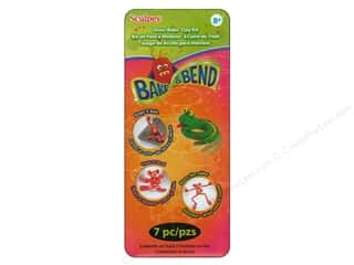 Clay & Modeling Animals: Sculpey SuperFlex Bake & Bend Clay Kit 7 pc.