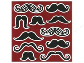 "Printing $9 - $12: Me&My Big Ideas Paper 12""x 12"" Mustache 9 (15 pieces)"
