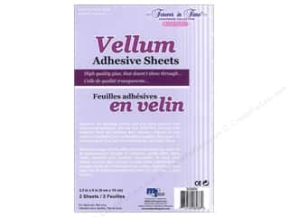 Multicraft Vellum Adhesive Sheets 3 1/2 x 6 in. 2 pc.