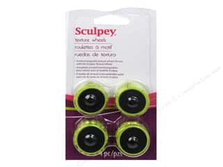 Sculpey Clay Tools Texture Wheel Head Pack 4 piece