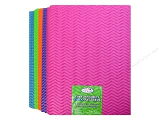 Craft Medley Fun Foam 9 x 12 in. 2 mm Wave Runner 1 (25 set)