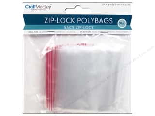 Craft Medley Zip-Lock Bags 3 x 4 in. 50 pc.