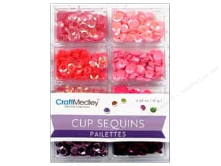 Multi's Embellishment  Yarn: Craft Medley Cup Sequins 7 mm Princess
